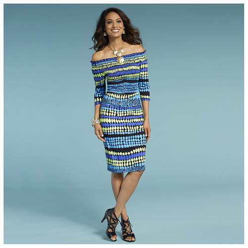 Tribal Smocked Dress