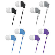 iSound Four-Pair Family Pack Of Earbuds