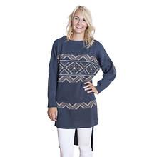 MUK LUKS Women's Tunic Sweater