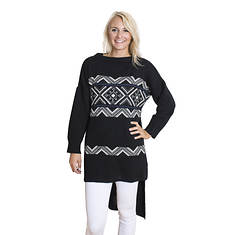 MUK LUKS Women's Tunic Sweater