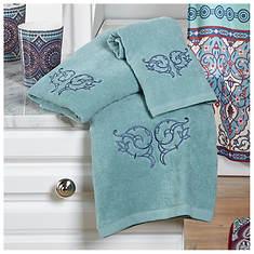 Taj Medallion 3-Piece Towel Set