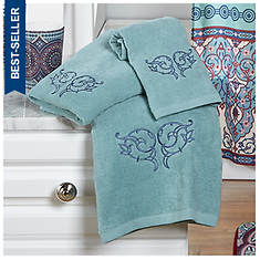 Taj Medallion 3-Piece Towel Set