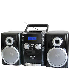 Naxa Portable CD/Cassette/AM/FM System