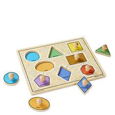 Melissa & Doug Large Shapes Jumbo Knob Puzzle - 8 Pieces