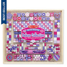 Melissa & Doug Deluxe Collection - Wooden Bead Set