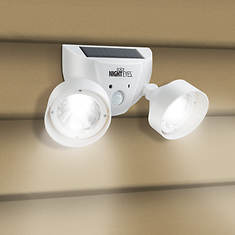 Night Eyes Solar Security Light/Alarm