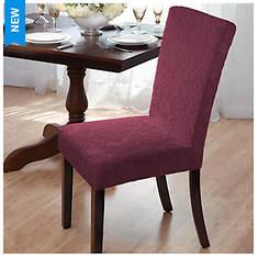 Velvet Damask Dining Room Chair Slipcover - Opened Item