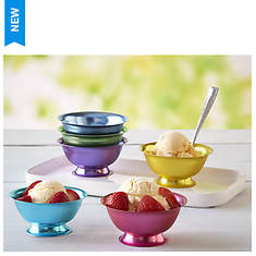 Aluminum Dessert Bowl 6-Piece Set