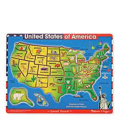 Melissa & Doug U.S.A. Sound Puzzle - 40 Pieces