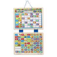 Melissa & Doug Magnetic Responsibility Chart - Chore Chart