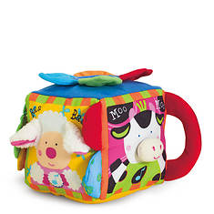 Melissa & Doug Musical Farmyard Cube Learning Toy
