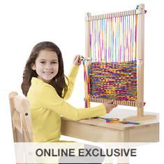 Melissa & Doug Multi-Craft Weaving Loom