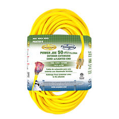 Sun Joe 50' Extension Cord with Lighted End