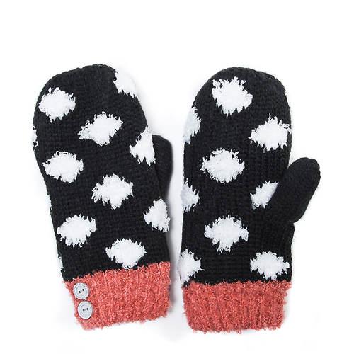 MUK LUKS Women's Rock Your Winter Mittens