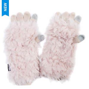 MUK LUKS Women's Fluffy Romance 3-in-1 Gloves