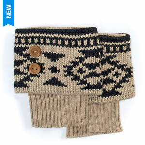 MUK LUKS Fairisle Boot Toppers (Women's)