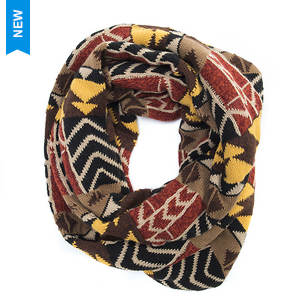 MUK LUKS Women's Gaucho Girl Eternity Scarf