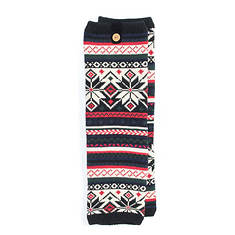 MUK LUKS Women's Patterned Legwarmers