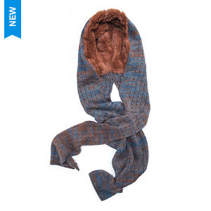 MUK LUKS Women's Pennies From Heaven Hood Scarf