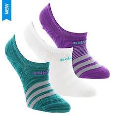 adidas Women's Superlite 3-Pack Super No Show