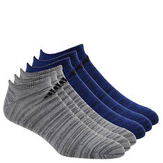 adidas Men's Superlite 6-Pack No Show