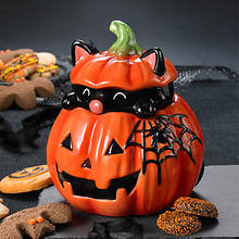 Peek-a-boo Pumpkin Treat Jar