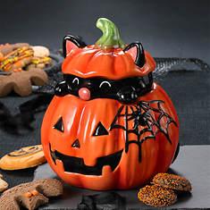 Peek-a-boo Pumpkin Treat Jar