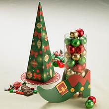 Tree and Elf Shoe of treats
