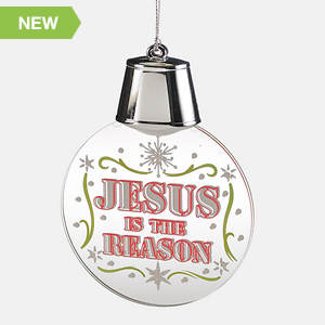 Jesus Is The Reason for the season LED Ornament
