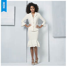 Ruffle Skirt & Jacket Set
