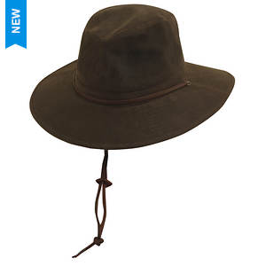 DPC Outdoor Design Men's Oil Cloth Safari Hat