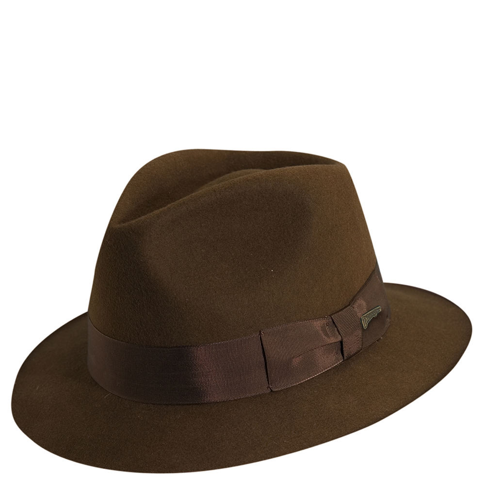 81f2b0c1bb8cd ... wool felt brown small 4365f 6b9b4  get indiana jones mens indy classic  fedora brown hats s 2d361 315de