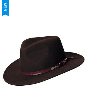 Indiana Jones Men's Crushable Indy Outback Hat
