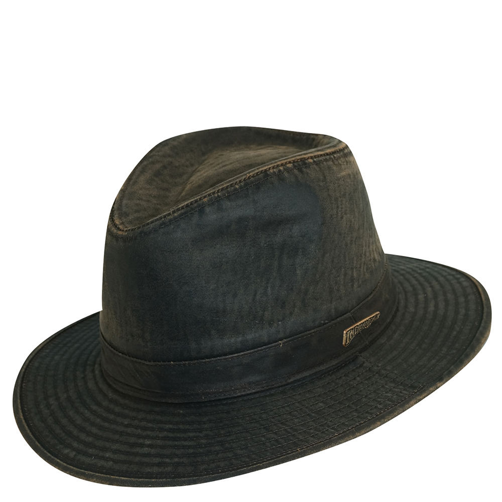 8e21fb9219bee uk indiana jones fur felt hat b0c49 b4581  shop indiana jones mens indy  weathered safari hat brown hats l 1ea82 aa492