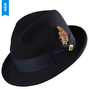 Stacy Adams Men's Felt Pinch Front Fedora