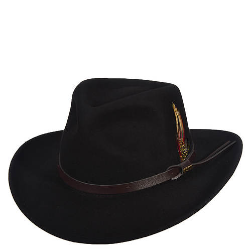 Scala Classico Men's Crushable Outback w/Ear Flaps Hat