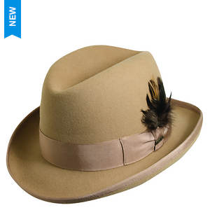 Scala Classico Men's Felt Homburg Hat