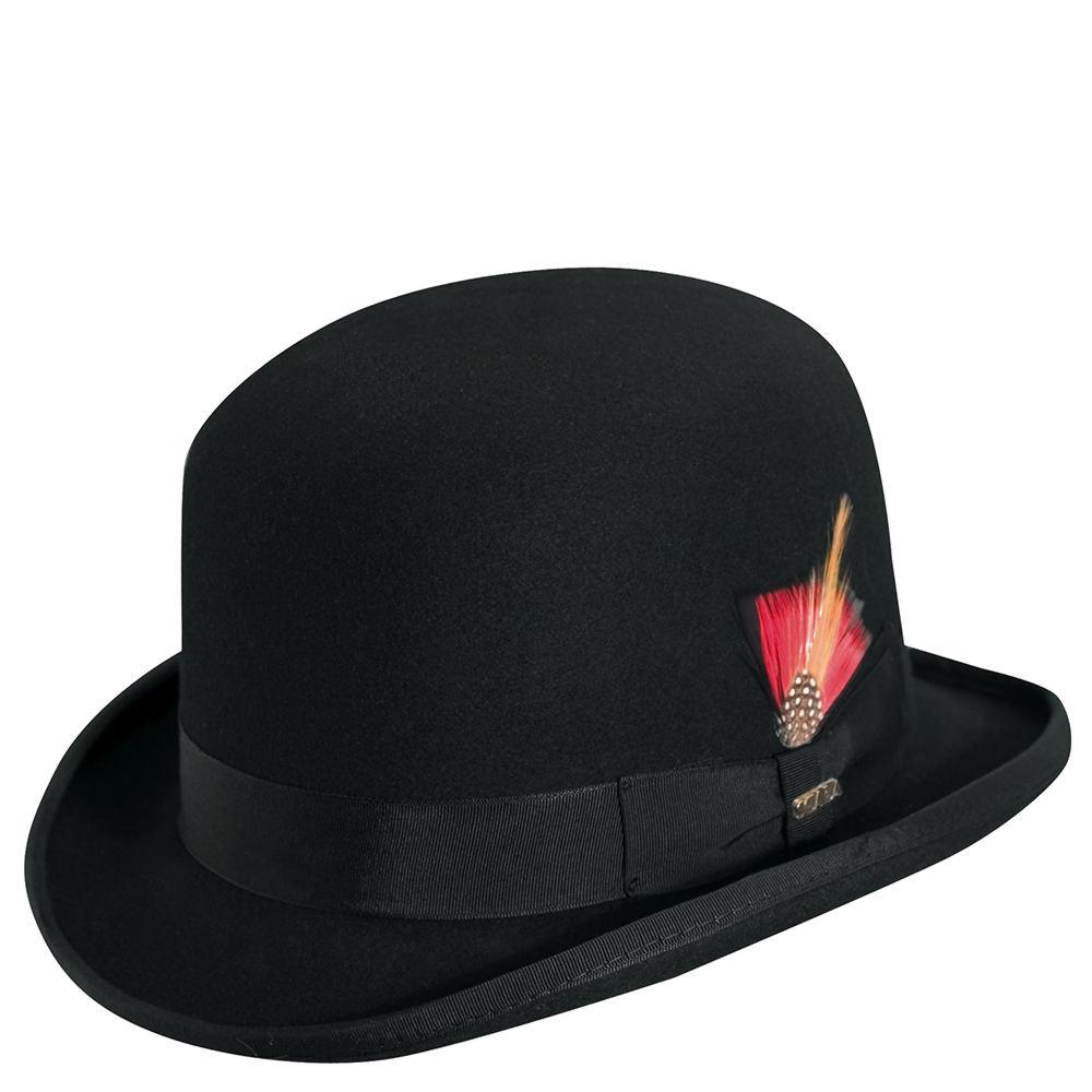 9b9a434ac02 Details about Scala Classico Men's Felt Derby Hat