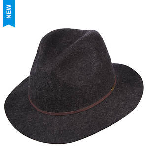 Scala Classico Men's Crushable Raw Edge Safari Hat