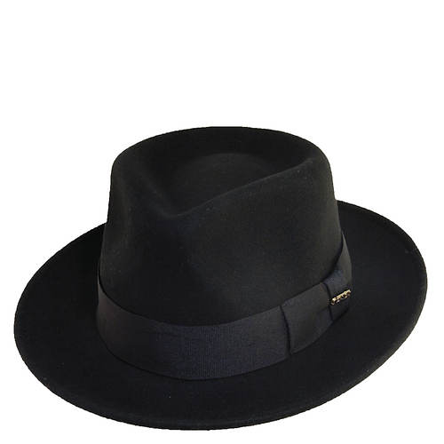 Scala Classico Men's Crushable C Crown Fedora