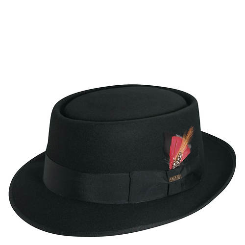 Scala Classico Men's Felt Pork Pie Hat