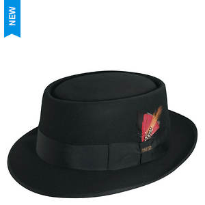 Scala Classico Men's Felt Pork Pie Hat