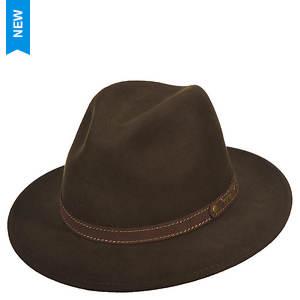 Scala Classico Men's Crushable Safari Suede Band Hat