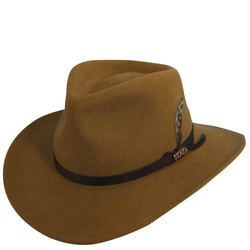 Scala Classico Men's Crushable Outback Hat