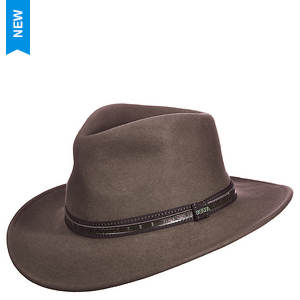 Scala Classico Men's Crushable Outback Felt Hat
