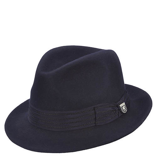 Stacy Adams Men's Felt Center Dent Fedora