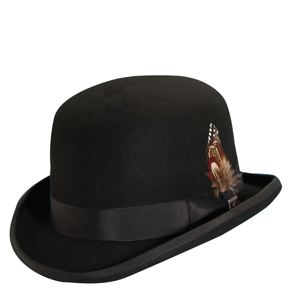 a43fd9e21b9 Stacy Adams Mens Wool Derby Hat Black X-large. About this product. Picture  1 of 4  Picture 2 of 4  Picture 3 of 4 ...