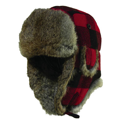 Woolrich Fur Check Trapper
