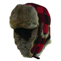 Woolrich Fur Check Bomber