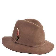 Scala Collezione Felt Safari Self Band Hat (Women's)